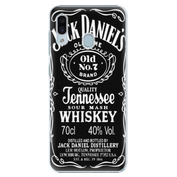 Plastové pouzdro iSaprio - Jack Daniels - Samsung Galaxy A20