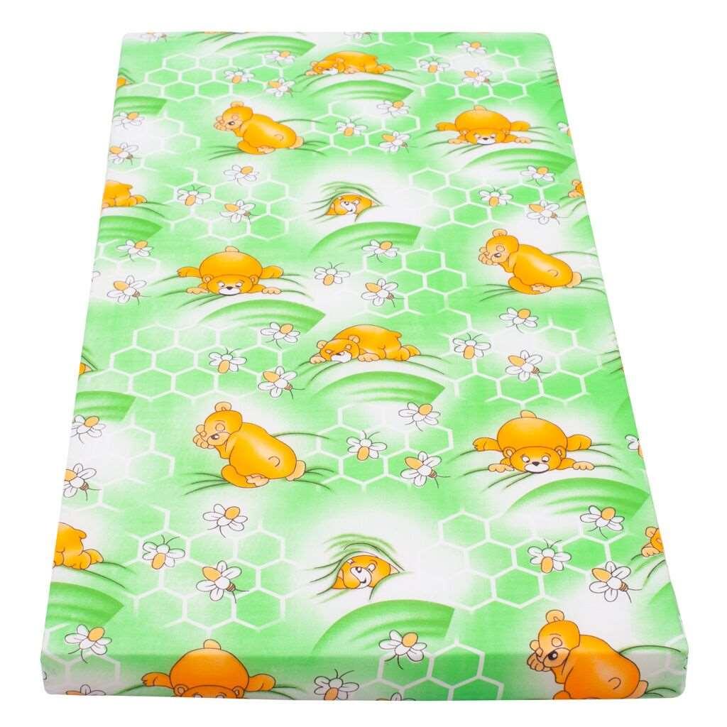 Dětská matrace New Baby - 120x60 molitan-kokos obrázky - zelená