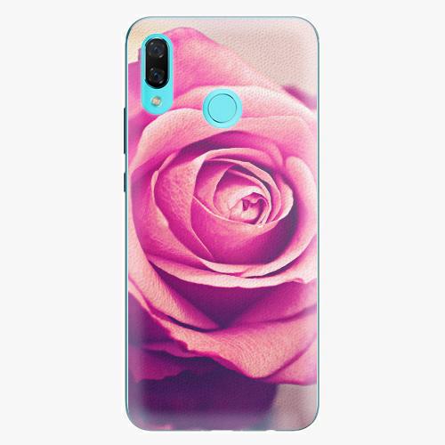 Plastový kryt iSaprio - Pink Rose - Huawei Nova 3