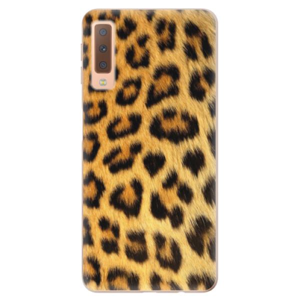 Odolné silikonové pouzdro iSaprio - Jaguar Skin - Samsung Galaxy A7 (2018)