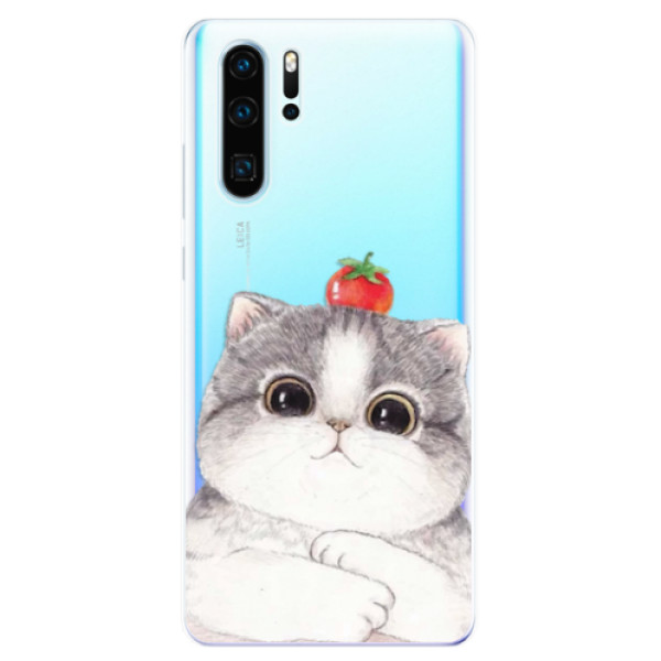 Odolné silikonové pouzdro iSaprio - Cat 03 - Huawei P30 Pro
