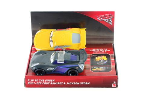 Cars překlápěcí a závodící auta