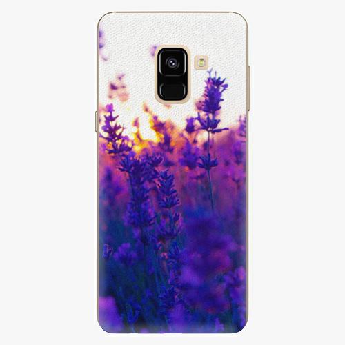 Plastový kryt iSaprio - Lavender Field - Samsung Galaxy A8 2018