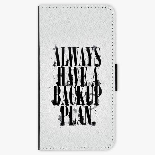 Flipové pouzdro iSaprio - Backup Plan - Lenovo Moto G5 Plus