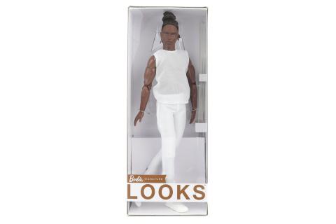 Barbie Basic ken s hnědými vlasy GXL14