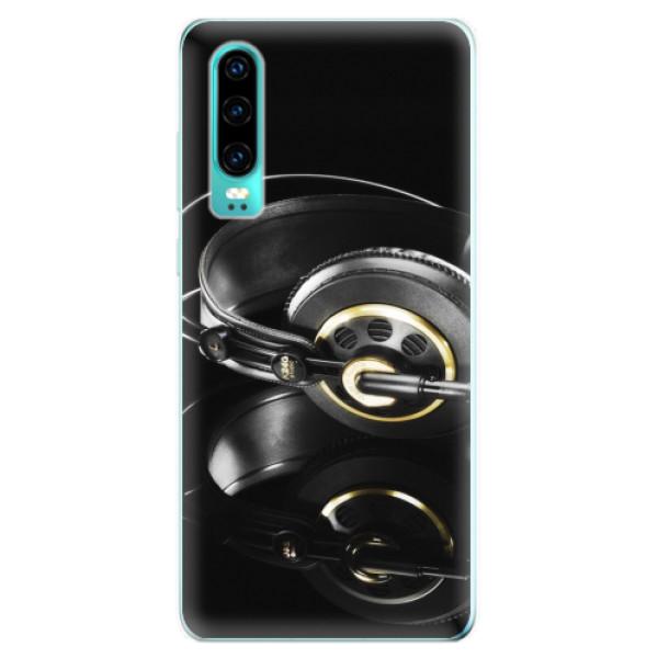 Odolné silikonové pouzdro iSaprio - Headphones 02 - Huawei P30