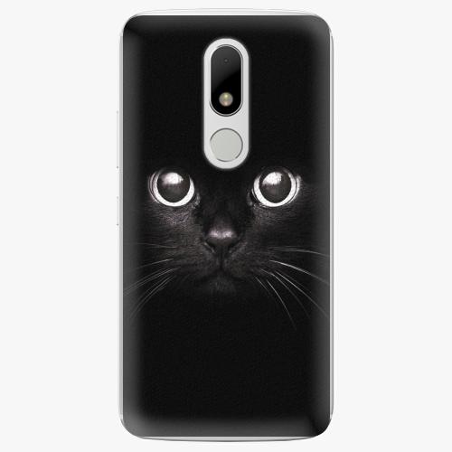 Plastový kryt iSaprio - Black Cat - Lenovo Moto M