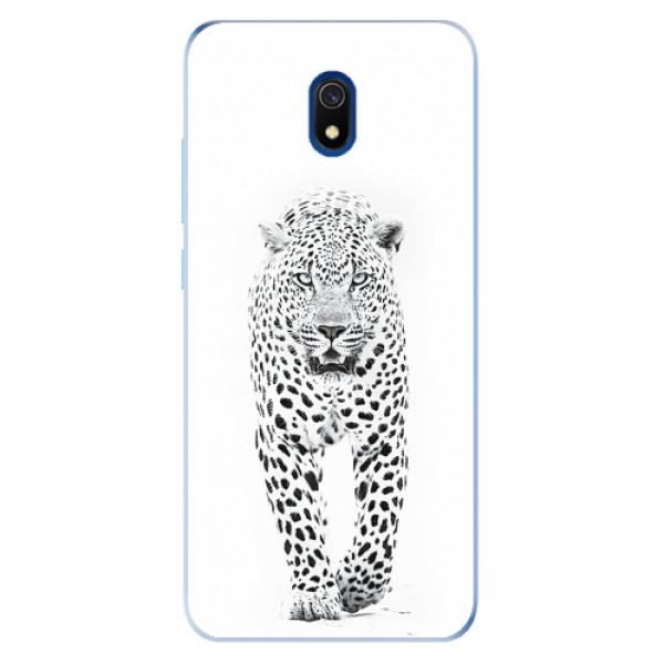 Odolné silikonové pouzdro iSaprio - White Jaguar - Xiaomi Redmi 8A