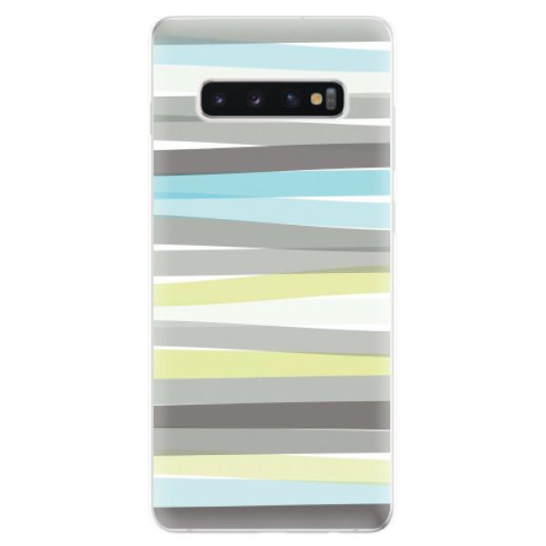 Odolné silikonové pouzdro iSaprio - Stripes - Samsung Galaxy S10+