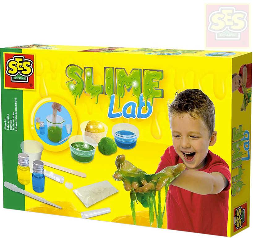 SES CREATIVE Laboratoř slizová Slime Lab kreativní set v krabici