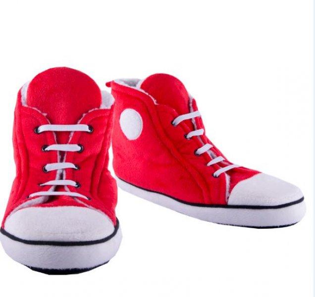 Bačkory Hi-Top - červené pánské