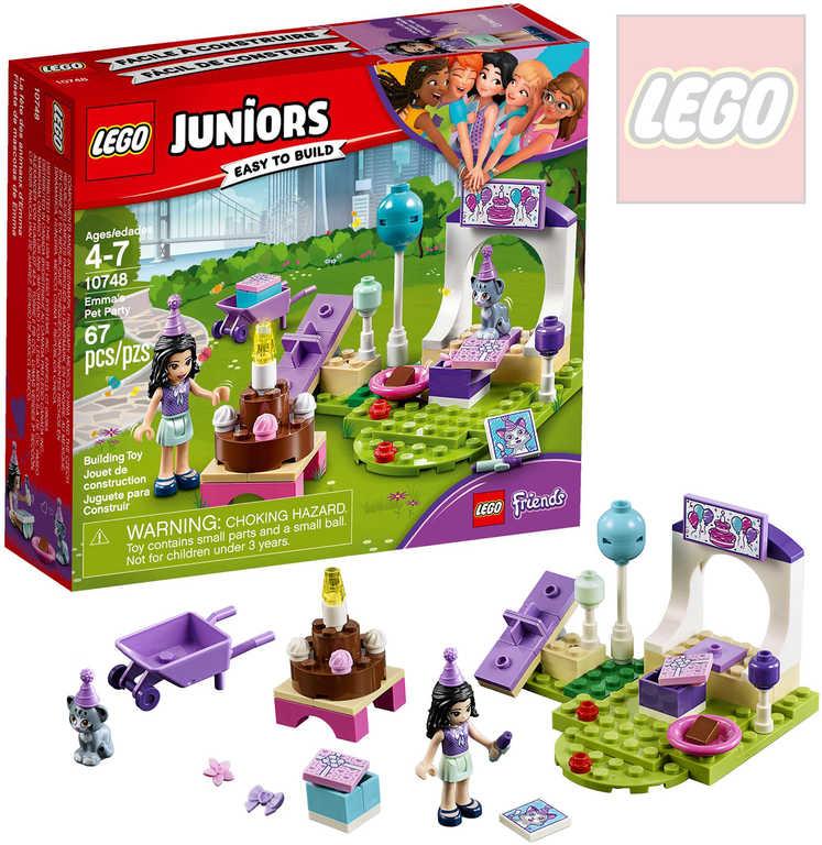 LEGO JUNIORS Emma a oslava pro mazlíčky 10748