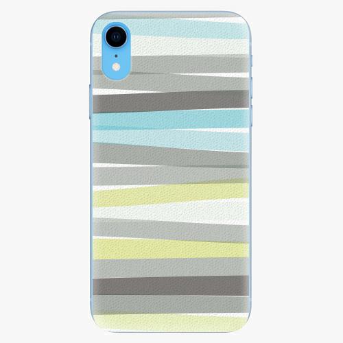 Silikonové pouzdro iSaprio - Stripes - iPhone XR