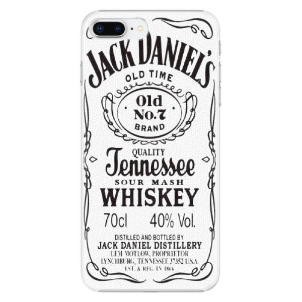 Plastové pouzdro iSaprio - Jack White - iPhone 8 Plus