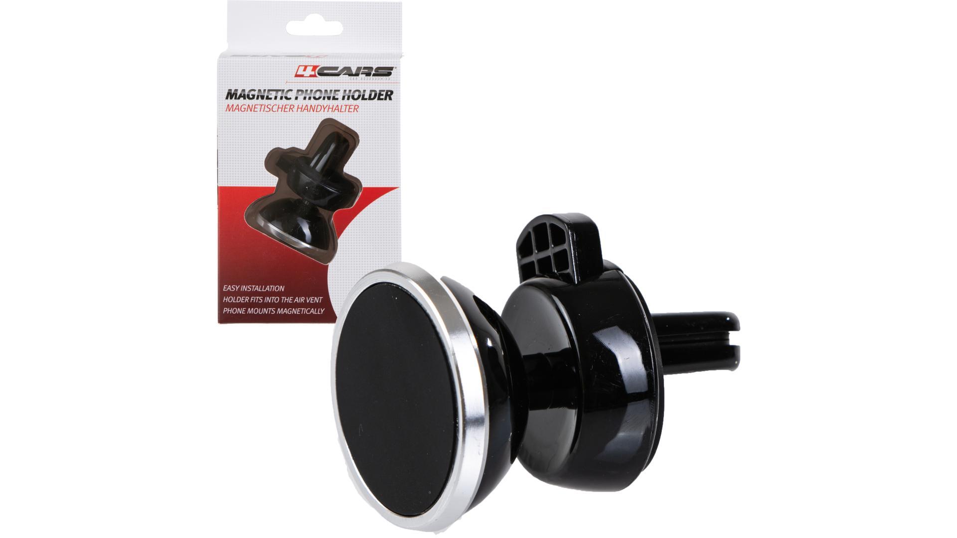 4CARS Magnetický držák telefonu pro větrací otvory