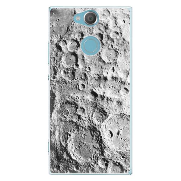 Plastové pouzdro iSaprio - Moon Surface - Sony Xperia XA2