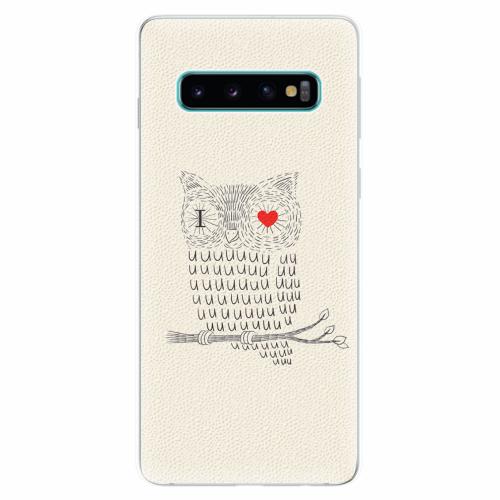 Silikonové pouzdro iSaprio - I Love You 01 - Samsung Galaxy S10