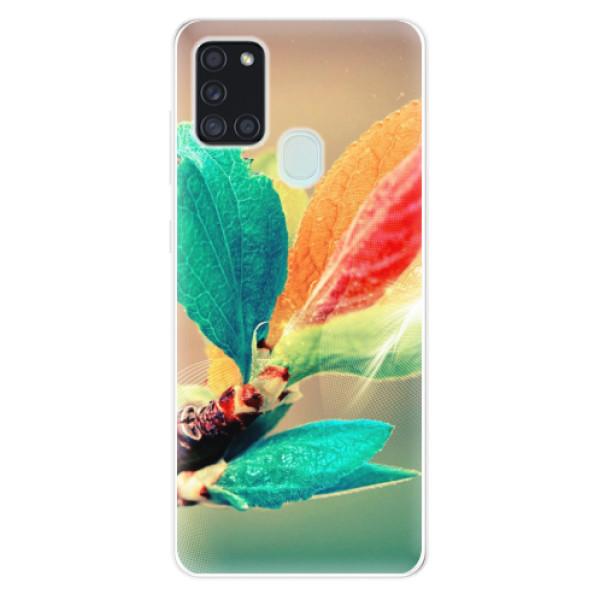 Odolné silikonové pouzdro iSaprio - Autumn 02 - Samsung Galaxy A21s