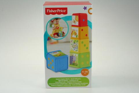 Fisher Price zvířátková věž CDC52
