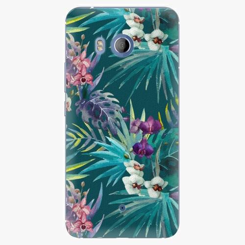Plastový kryt iSaprio - Tropical Blue 01 - HTC U11