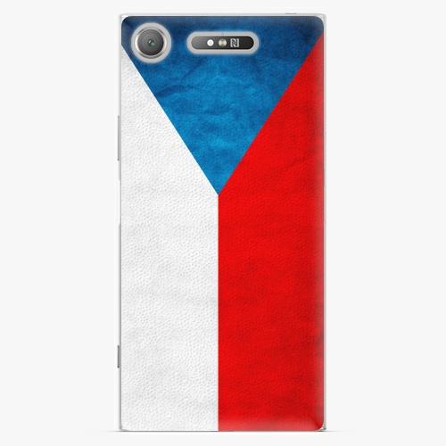 Plastový kryt iSaprio - Czech Flag - Sony Xperia XZ1