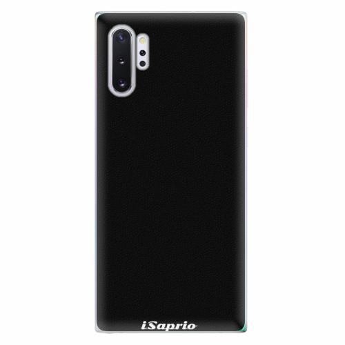 Silikonové pouzdro iSaprio - 4Pure - černý - Samsung Galaxy Note 10+