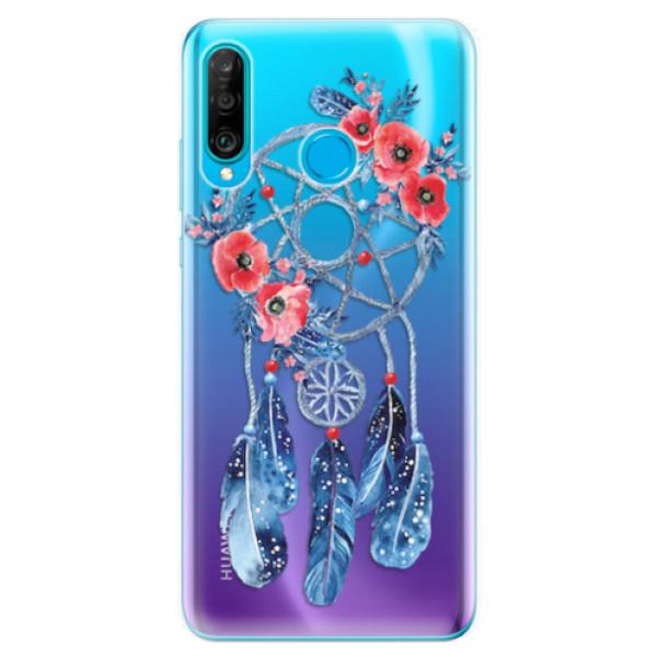 Odolné silikonové pouzdro iSaprio - Dreamcatcher 02 - Huawei P30 Lite