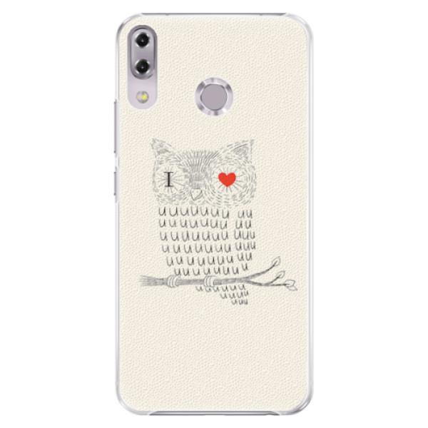 Plastové pouzdro iSaprio - I Love You 01 - Asus ZenFone 5Z ZS620KL