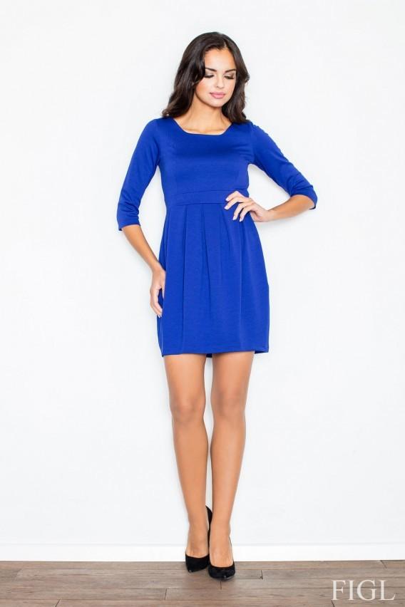 66d029d34555 Figl šaty M122 modré - Modrá M