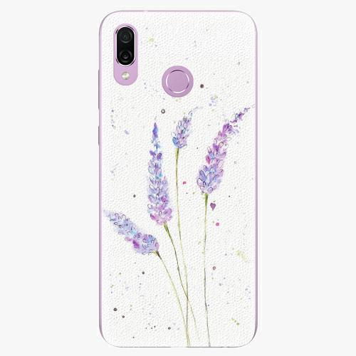 Silikonové pouzdro iSaprio - Lavender - Huawei Honor Play