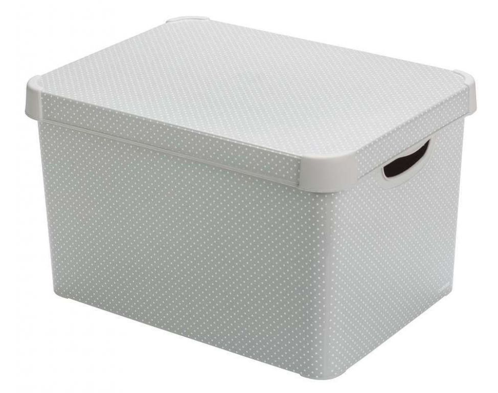 Curver box - velikost L - puňtík