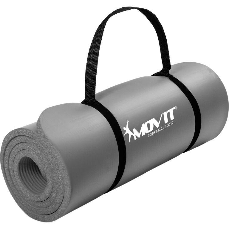 Gymnastická podložka Movit 183 x 60 x 1 cm - šedá
