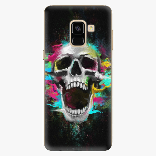 Plastový kryt iSaprio - Skull in Colors - Samsung Galaxy A8 2018