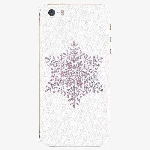 Plastový kryt iSaprio - Snow Flake - iPhone 5/5S/SE