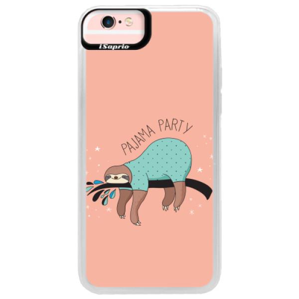 Neonové pouzdro Pink iSaprio - Pajama Party - iPhone 6/6S
