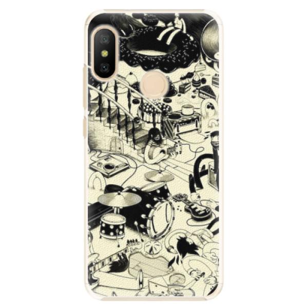 Plastové pouzdro iSaprio - Underground - Xiaomi Mi A2 Lite