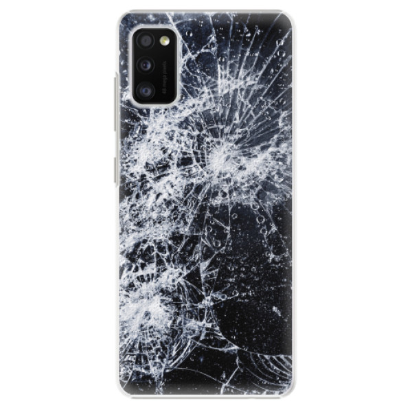 Plastové pouzdro iSaprio - Cracked - Samsung Galaxy A41