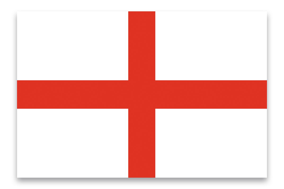 Vlajka 600 x 360 cm, Anglie