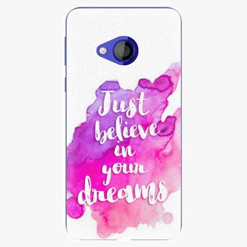 Plastový kryt iSaprio - Believe - HTC U Play