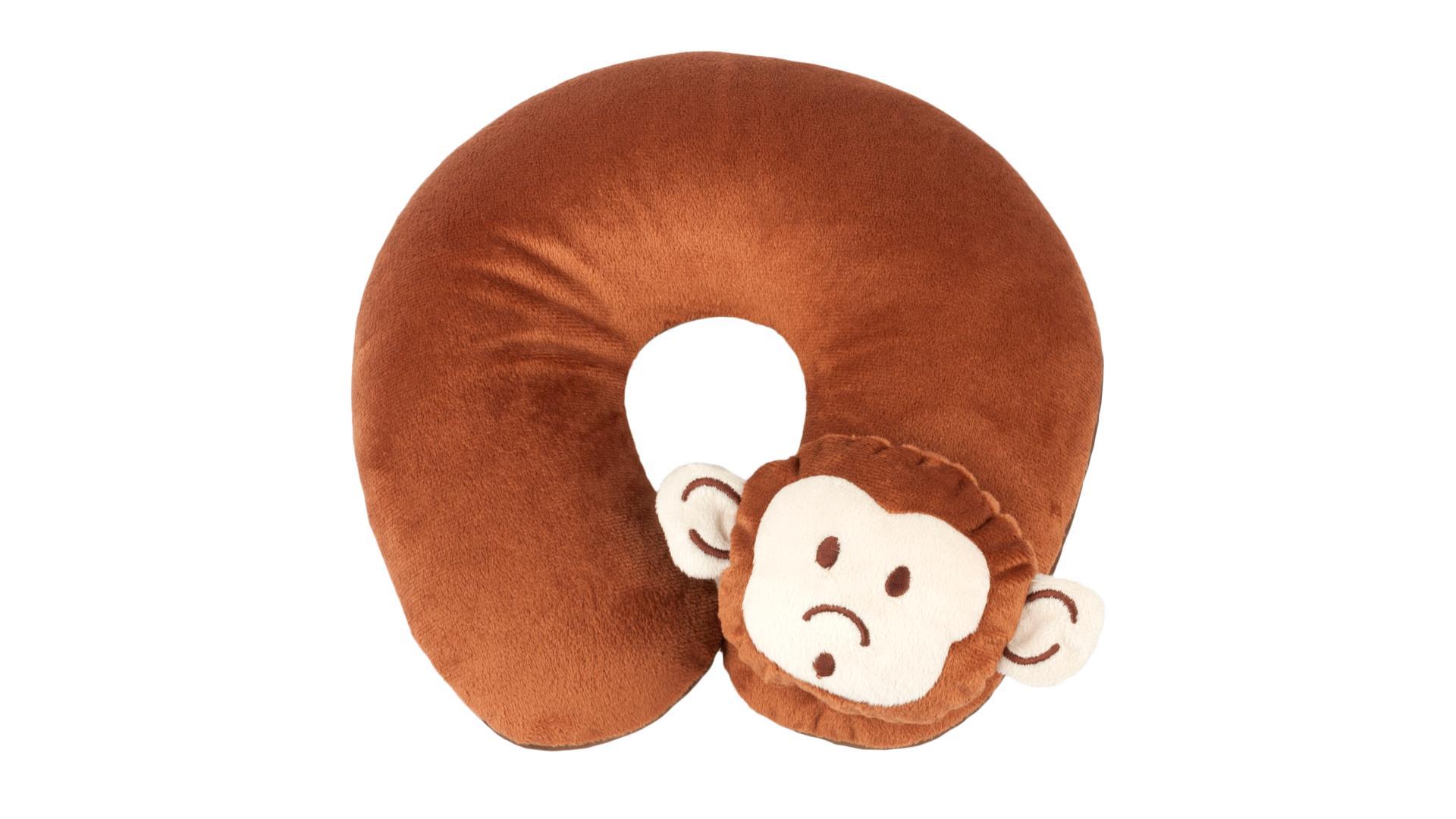 Walser polštářový límec Monkey hnědý (od 5 let)