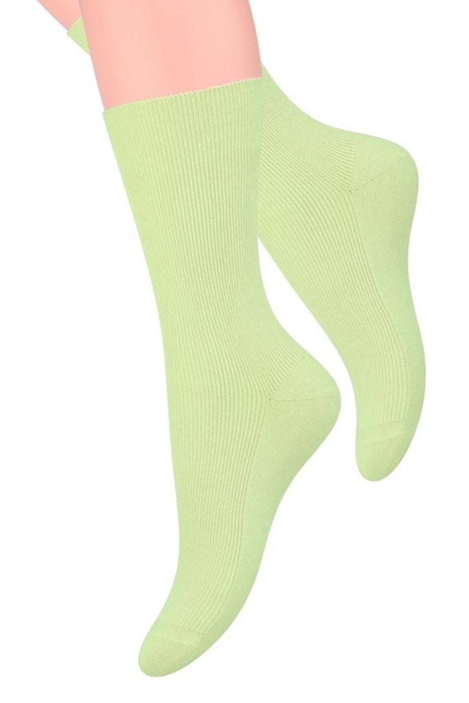 Dámské nadkolenky 018 green - 35/38