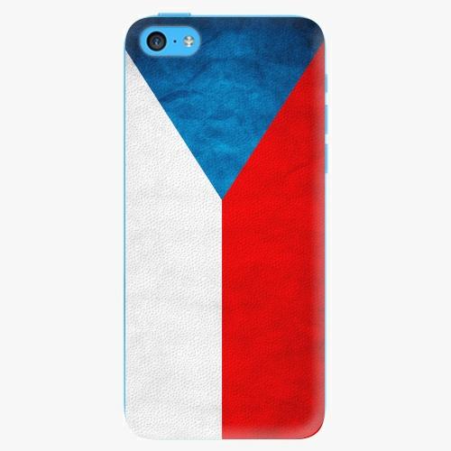 Plastový kryt iSaprio - Czech Flag - iPhone 5C