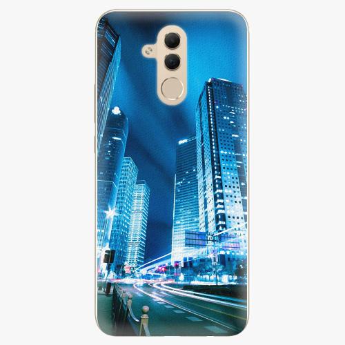 Plastový kryt iSaprio - Night City Blue - Huawei Mate 20 Lite