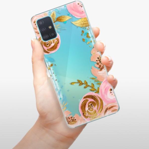 Plastové pouzdro iSaprio - Golden Youth - Samsung Galaxy A51