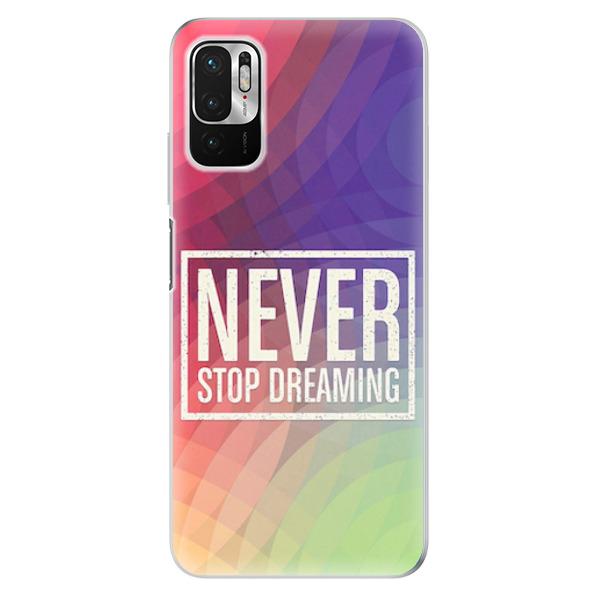 Odolné silikonové pouzdro iSaprio - Dreaming - Xiaomi Redmi Note 10 5G