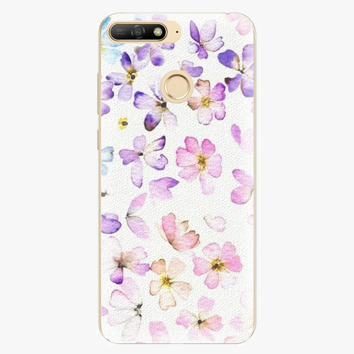 Plastový kryt iSaprio - Wildflowers - Huawei Y6 Prime 2018
