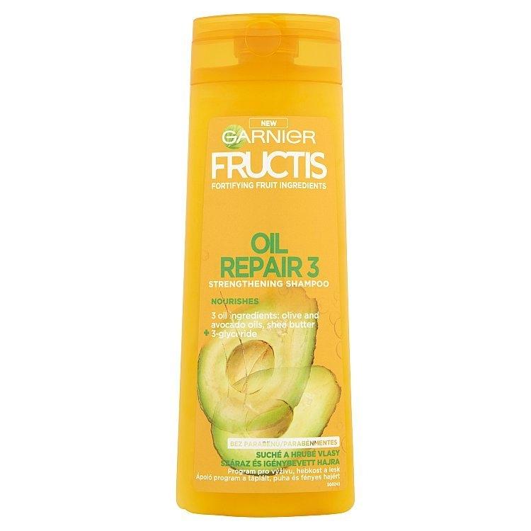 Garnier Fructis Oil Repair Intense šampon pro velmi suché a nepoddajné vlasy 400 ml