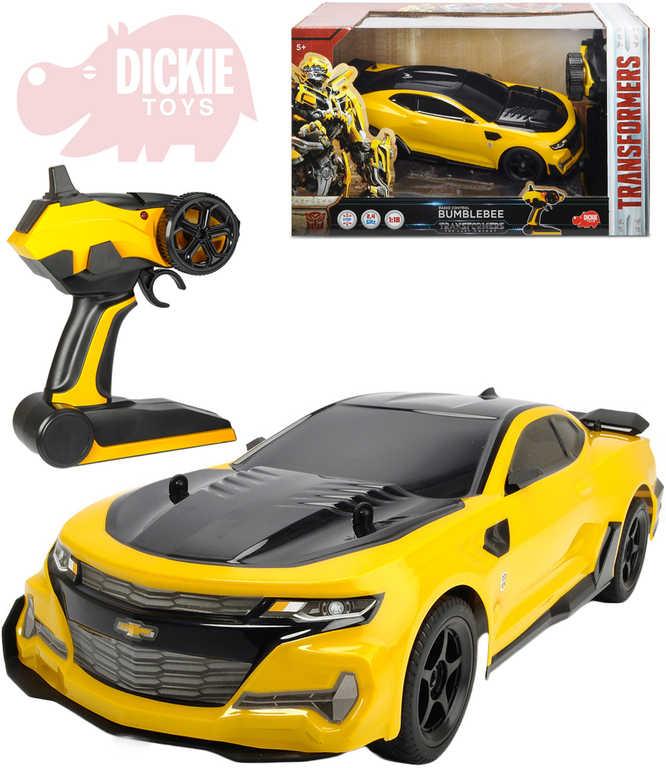 DICKIE TRANSFORMERS RC Bumblebee 2,4GHz na vysílačku 1:18 na baterie