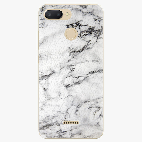 Silikonové pouzdro iSaprio - White Marble 01 - Xiaomi Redmi 6