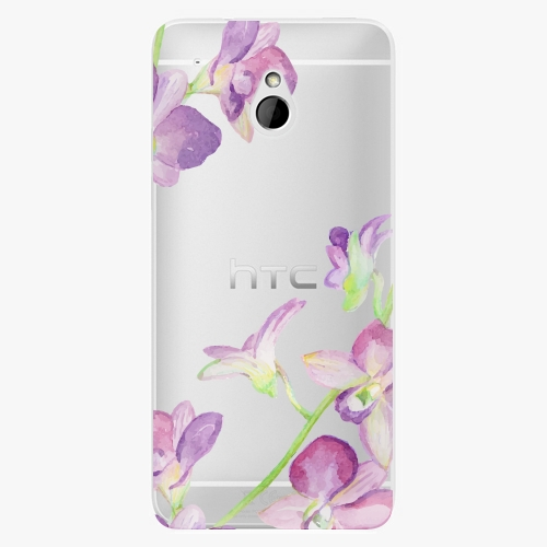Plastový kryt iSaprio - Purple Orchid - HTC One Mini